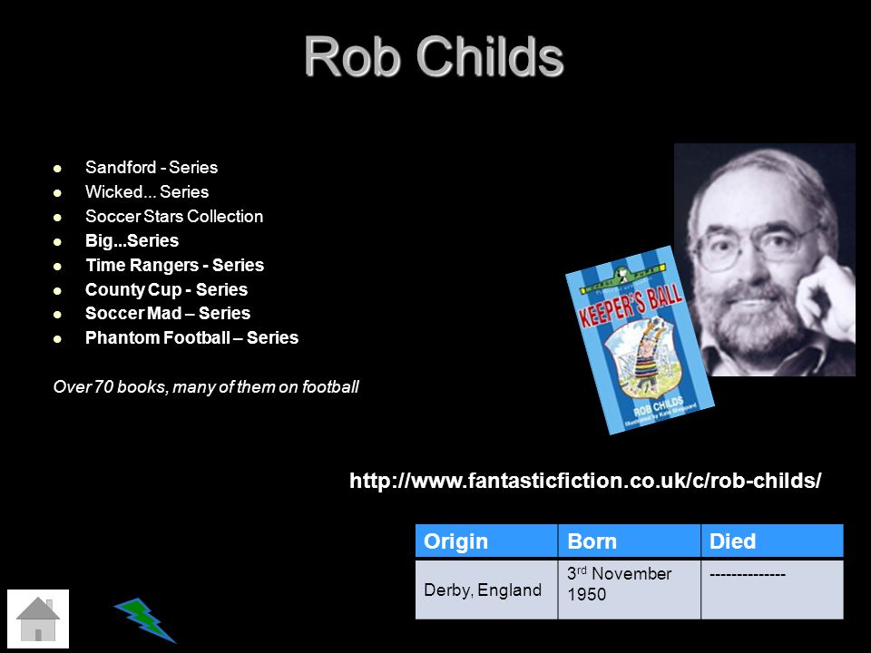 Rob Childs Sandford - Series Wicked... Series Soccer Stars Collection Big...Series Time Rangers - Series County Cup - Series Soccer Mad – Series Phant