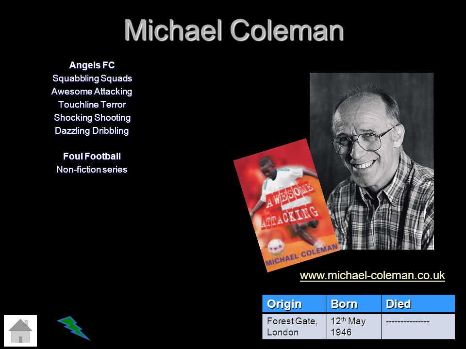 Michael Coleman Angels FC Squabbling Squads Awesome Attacking Touchline Terror Shocking Shooting Dazzling Dribbling Foul Football Non-fiction series O