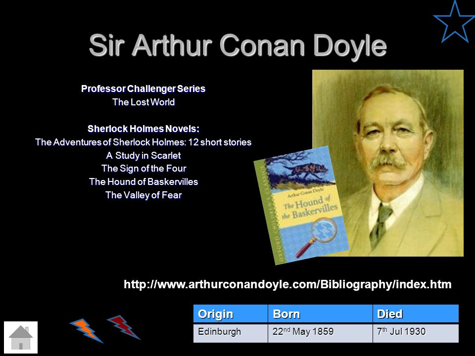 Sir Arthur Conan Doyle Professor Challenger Series The Lost World Sherlock Holmes Novels: The Adventures of Sherlock Holmes: 12 short stories A Study