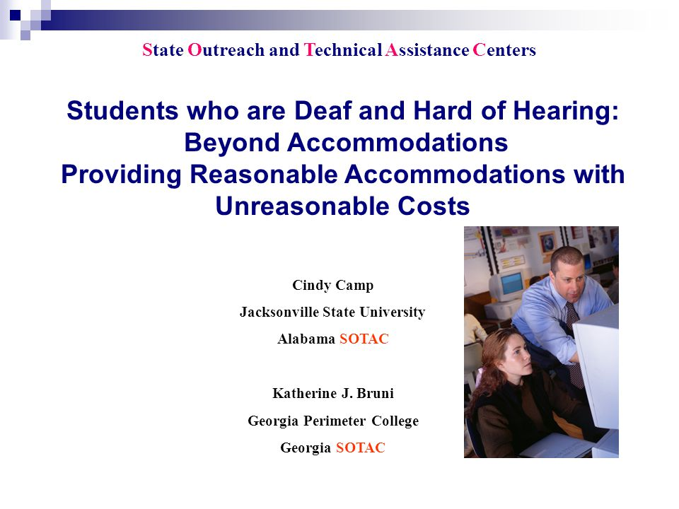 Other Considerations: English and High Stakes Testing Notetaking Online Notetaker Training http://www.netac.rit.edu/onlinenotetakertraining.html Assistive Listening Devices