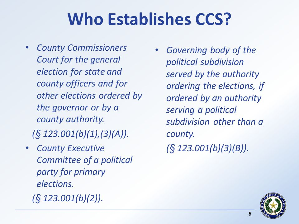 Checks and Balances – CCS (contd) Duplicated ballots are properly noted and the serial number of the original ballot is written on the duplicate ballot and vice versa.