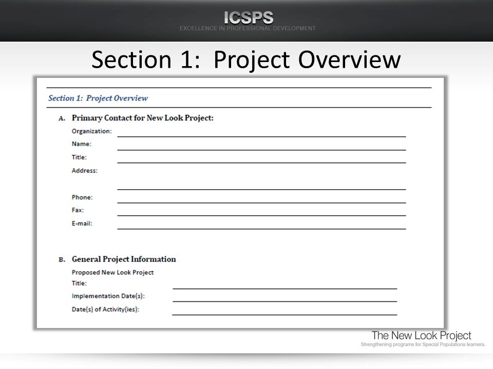 Section 1: Project Overview