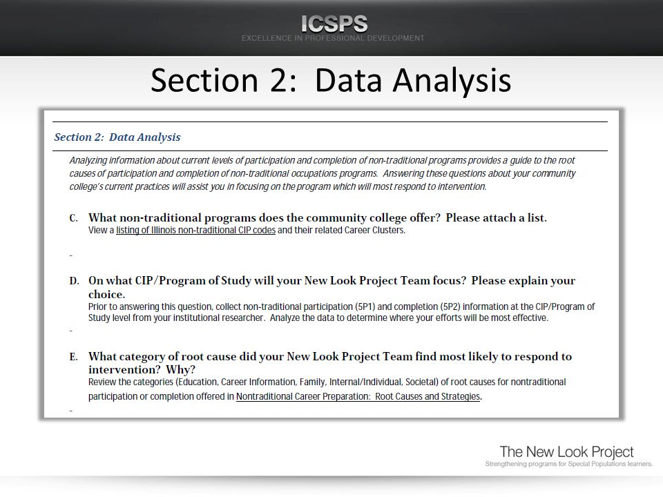 Section 2: Data Analysis