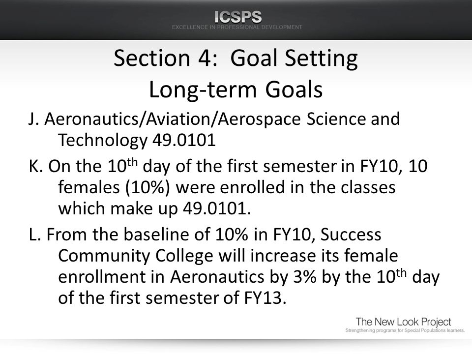 J. Aeronautics/Aviation/Aerospace Science and Technology 49.0101 K. On the 10 th day of the first semester in FY10, 10 females (10%) were enrolled in