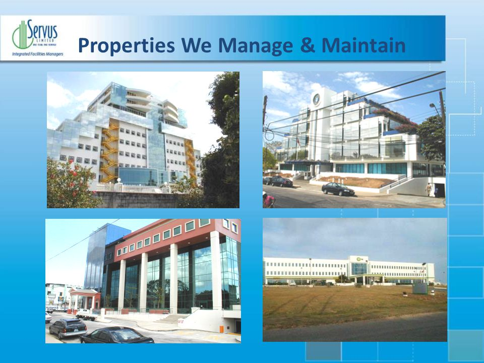 Properties We Manage & Maintain