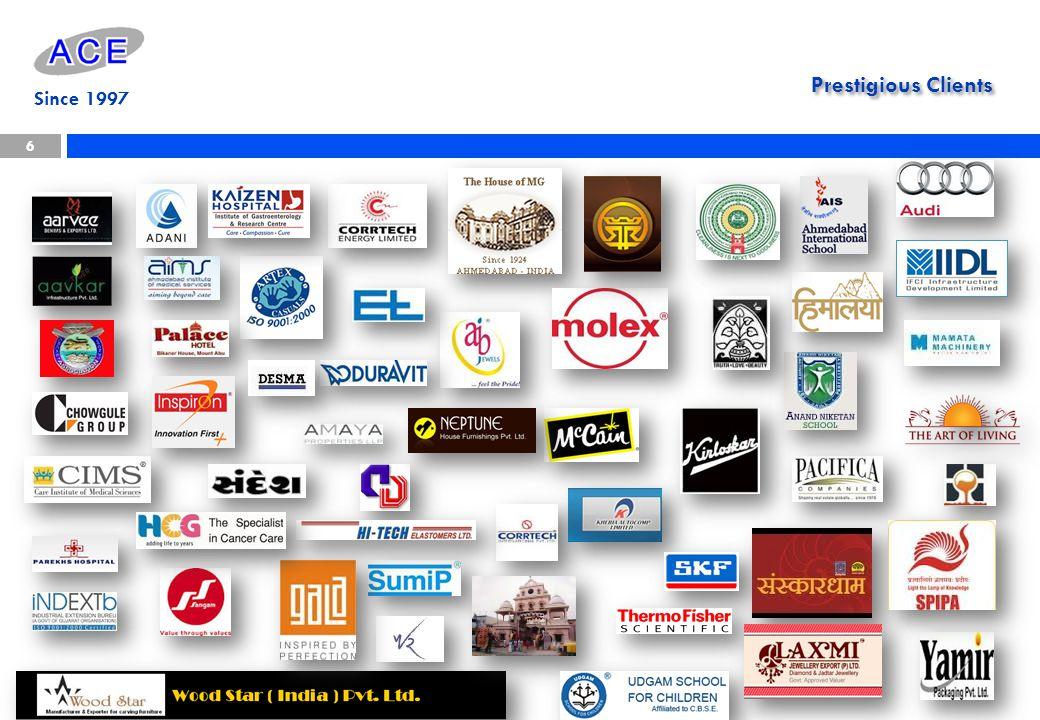 Prestigious Clients 6 Since 1997