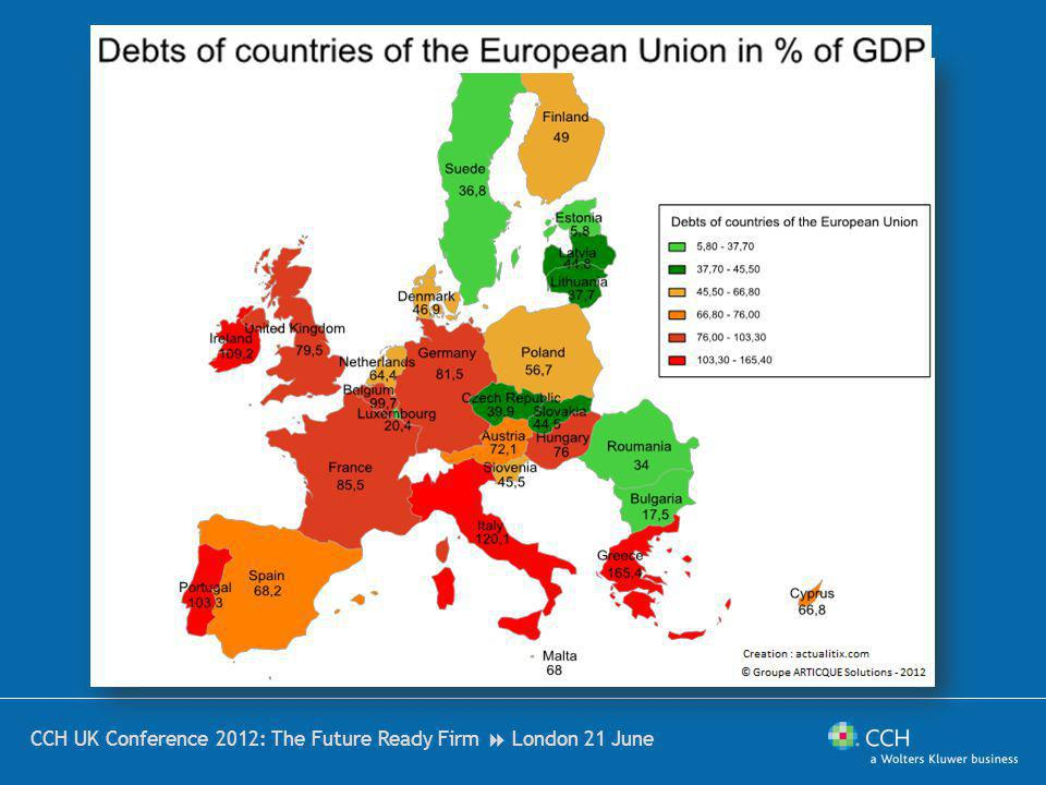 Countries most exposed the Greek debt