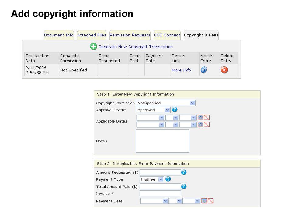 Add copyright information