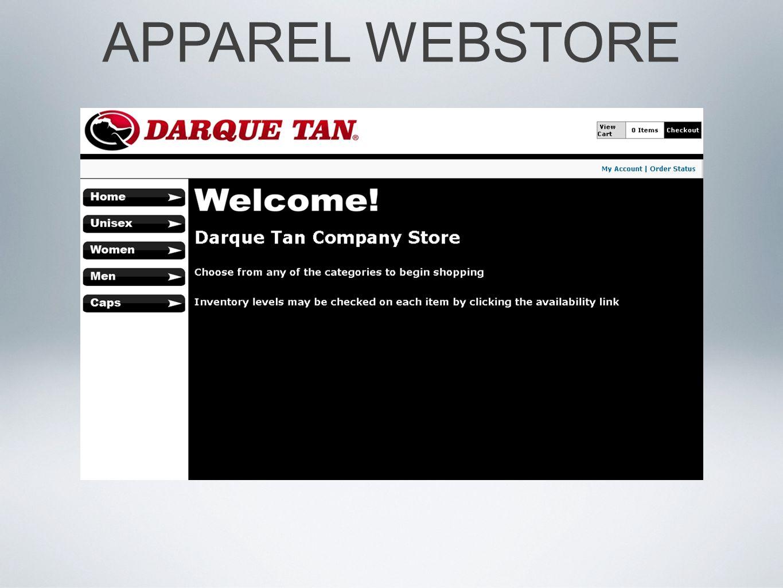 APPAREL WEBSTORE
