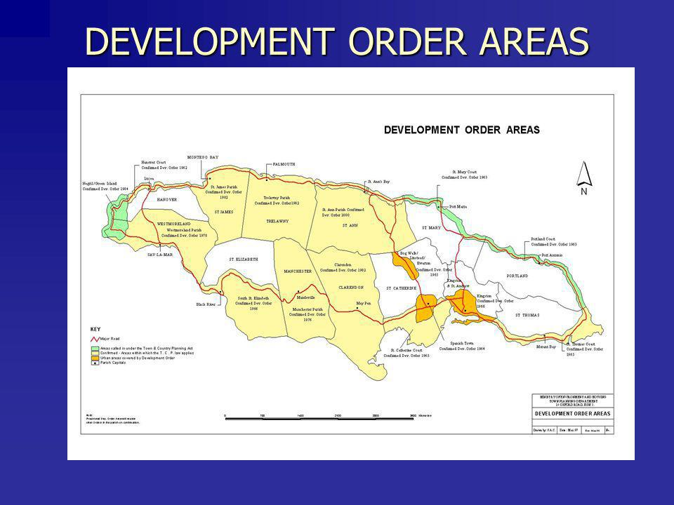 DEVELOPMENT ORDER AREAS