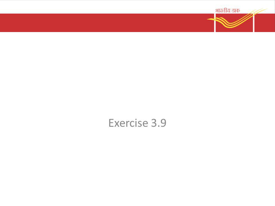 Exercise 3.9