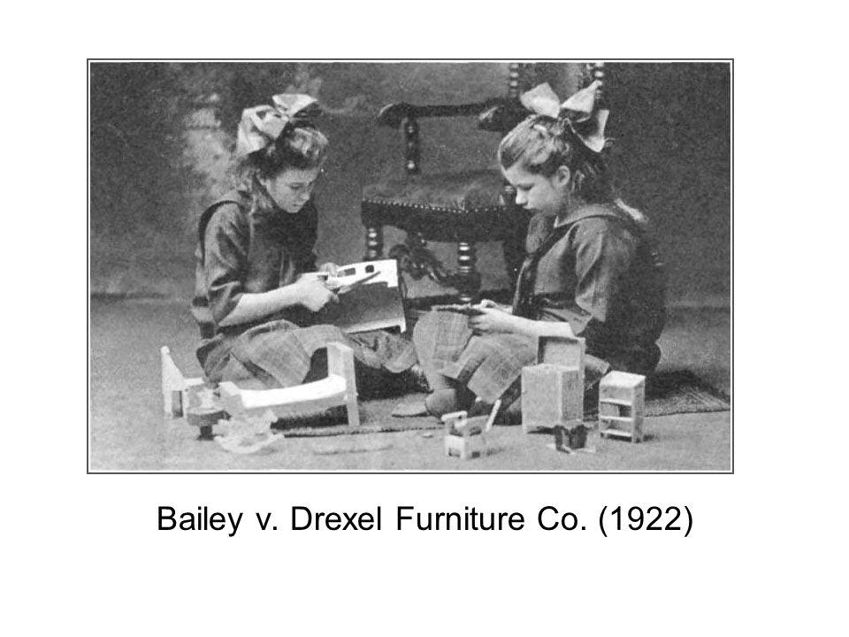 McCray v. US (oleomargarine)(1904) US v. Doremus (opium)(1919)