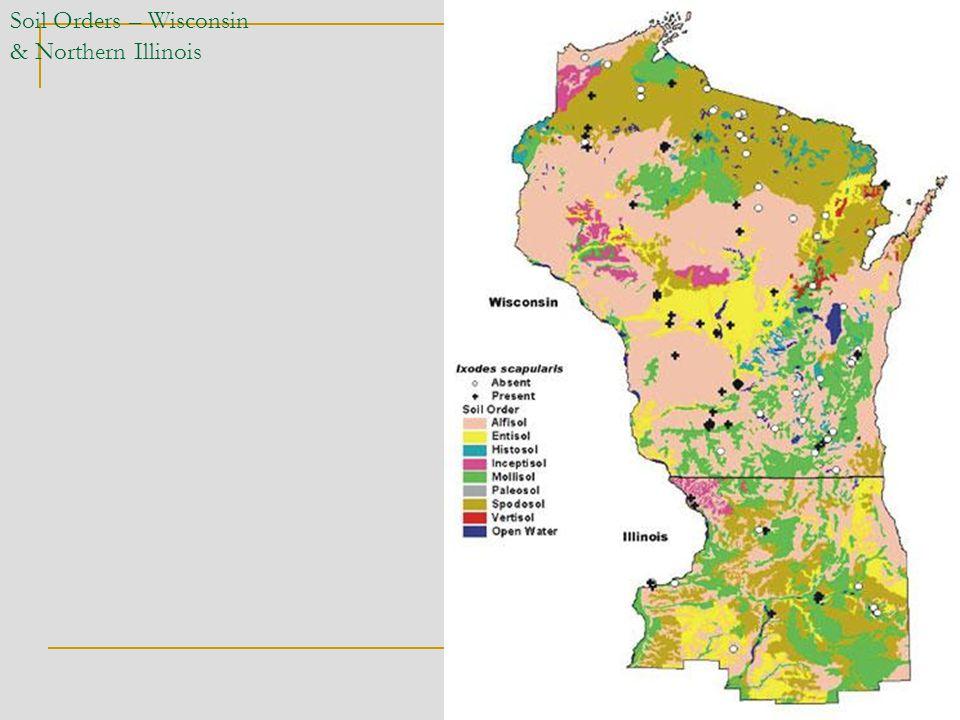 Soil Orders – Wisconsin & Northern Illinois