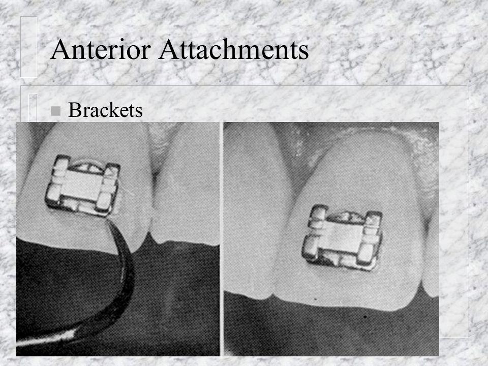 Anterior Attachments n Brackets