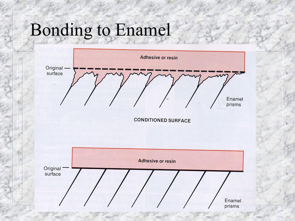 Bonding to Enamel