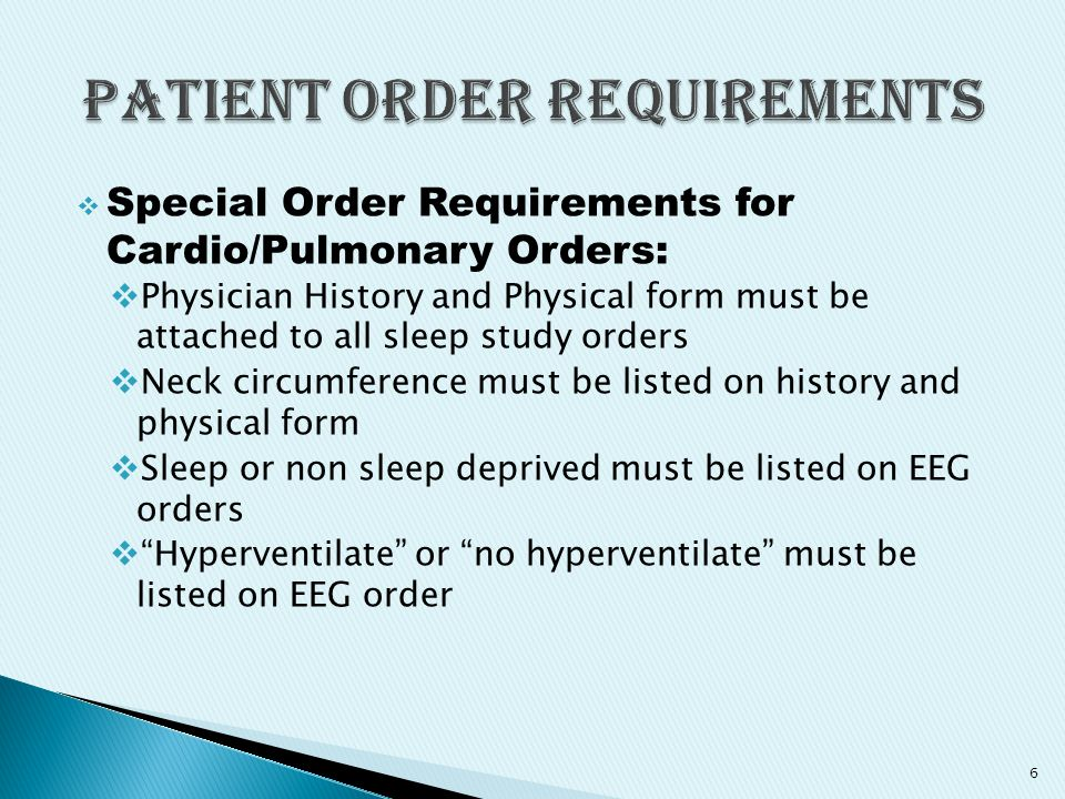 Special Order Requirements for Cardio Pulmonary Orders continued: Echogram orders must be ordered as limited or complete Exercise oximetry can be ordered with Treadmills 7