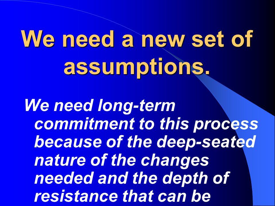 This compulsion blocks redesign of instruction.