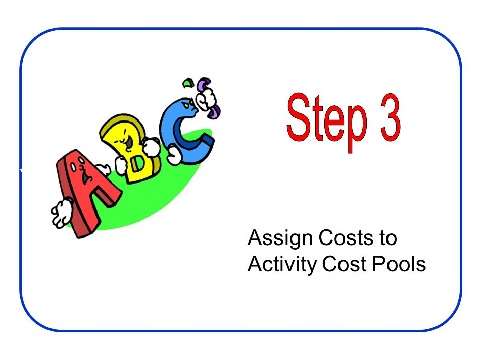Assign Costs to Activity Cost Pools