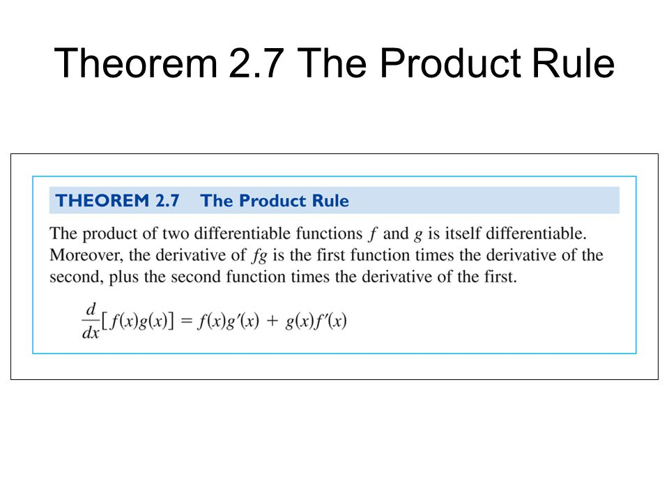 Just Checking... Find the derivatives of the given functions