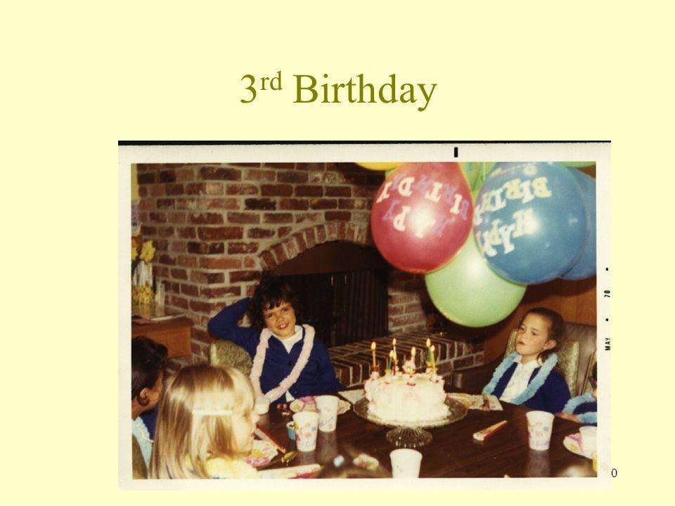 9 3 rd Birthday