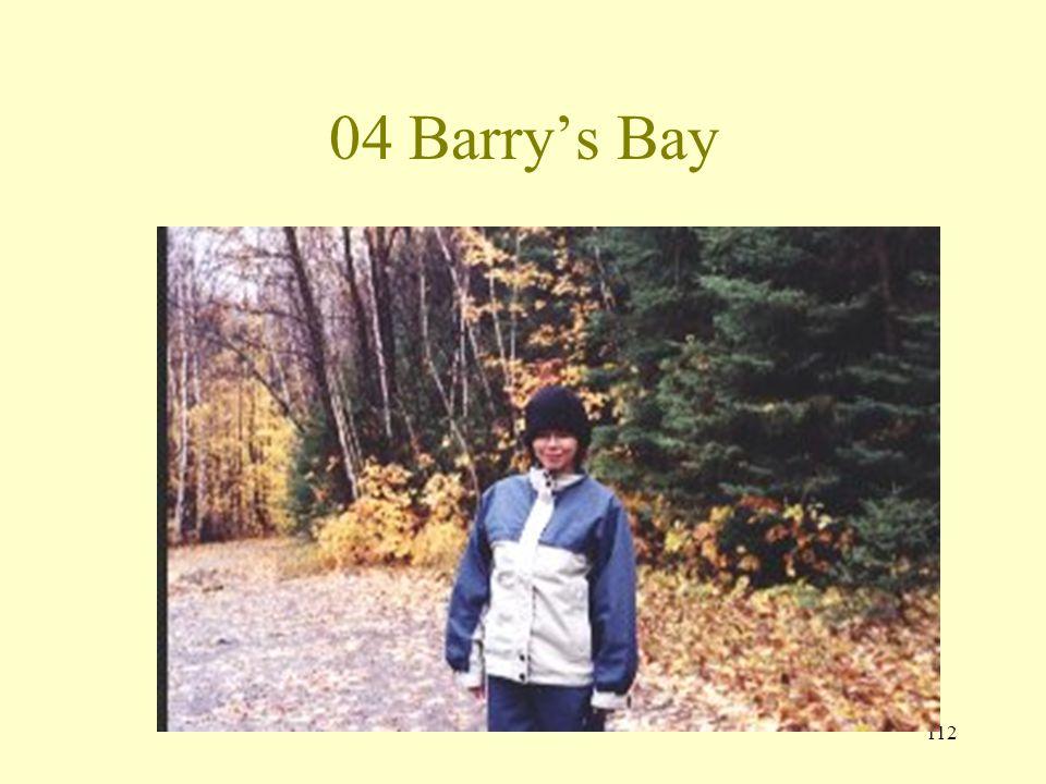 111 04 Barrys Bay