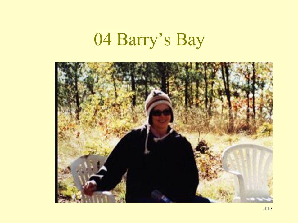 112 04 Barrys Bay