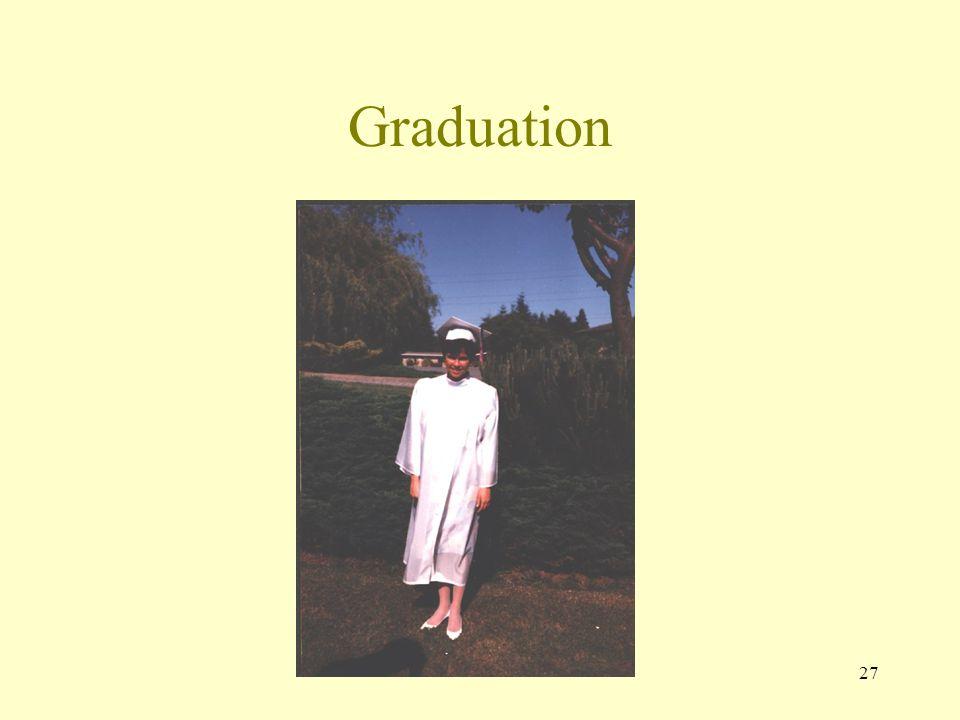 26 Graduation