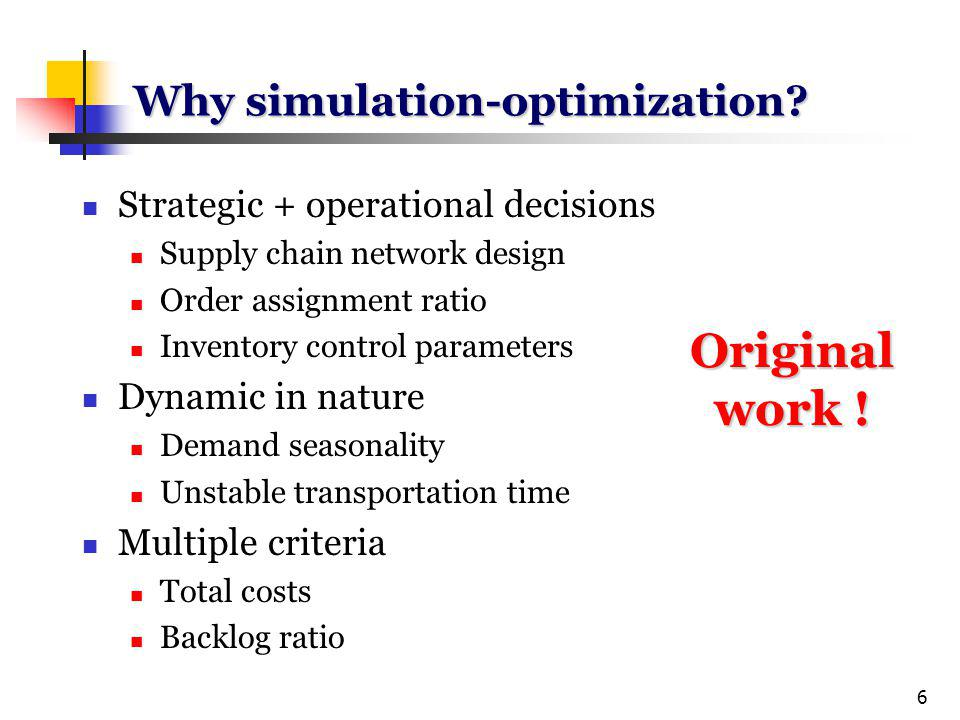 6 Why simulation-optimization.