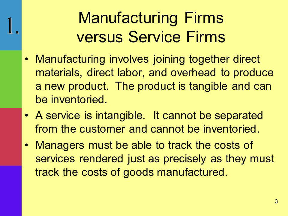 14 Job-Order Costing: Overview Job-order industries produce a wide variety of products or jobs that are distinct.