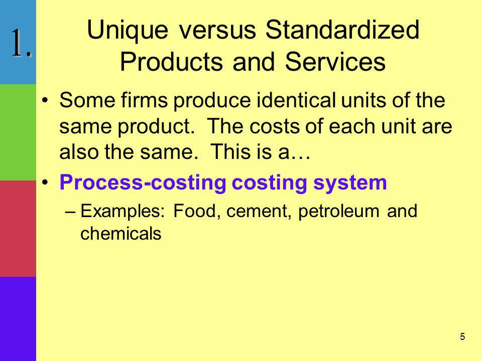 6 Setting Up the Cost Accounting System