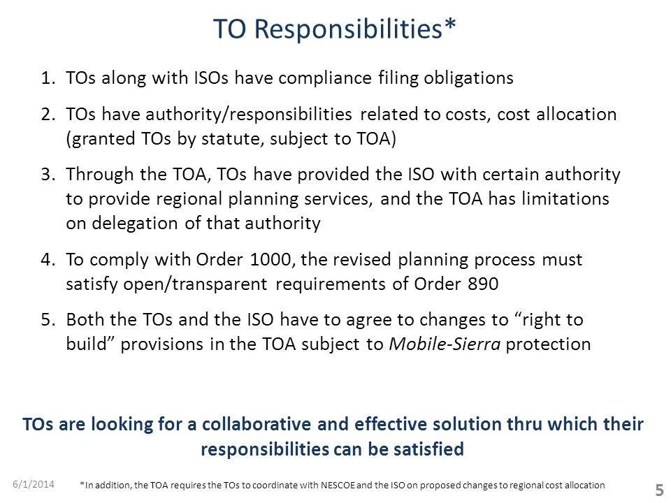 Adoption of Enhanced Proposal is Feasible 26 6/1/2014 1.Proposed tariff changes will be available for the next TC meeting 2.Draft of Qualifications for Non-Incumbents underway 3.New Planning Procedure needed TOs ready to assist.
