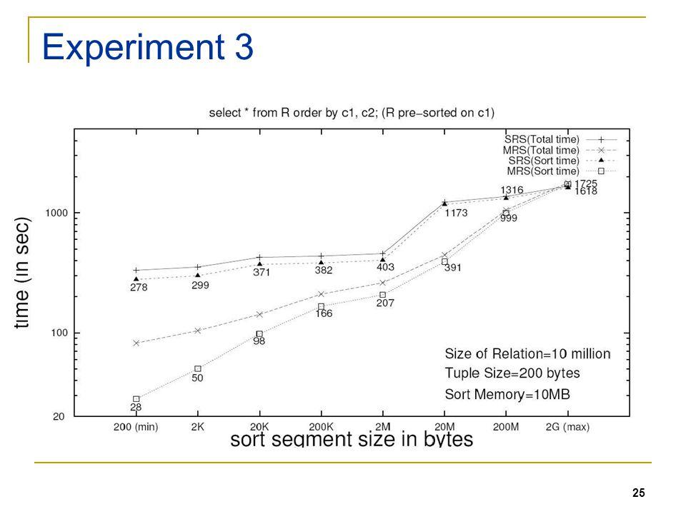 25 Experiment 3