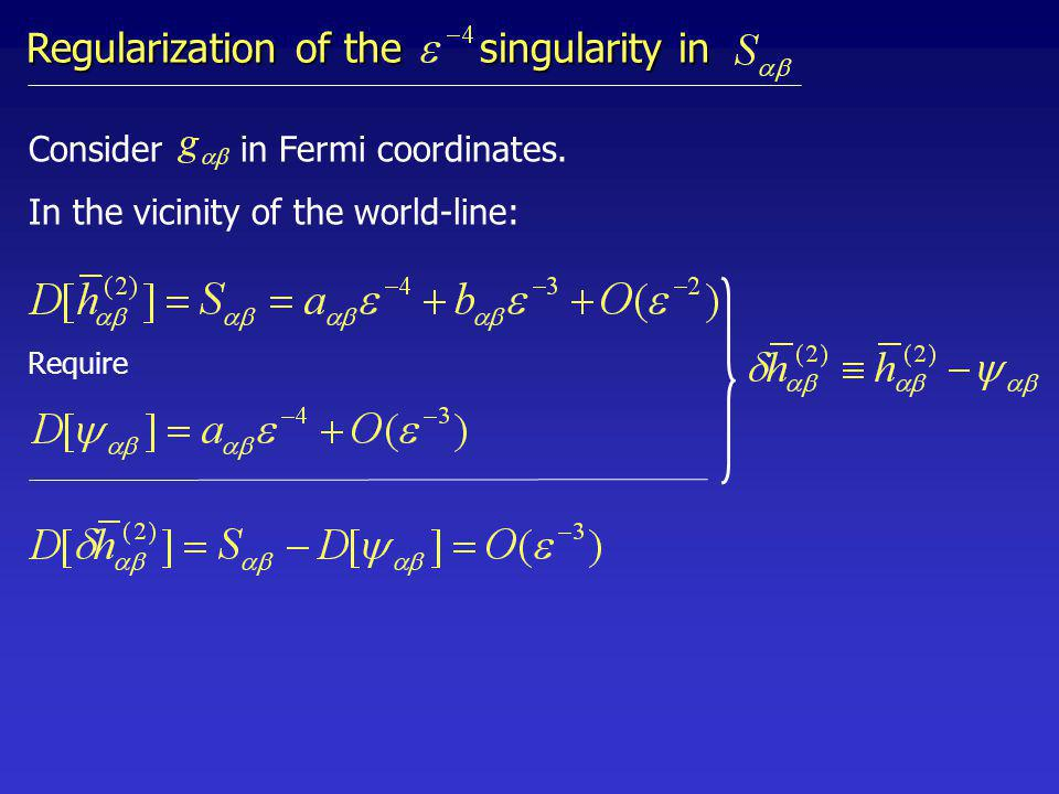 Require Consider in Fermi coordinates.