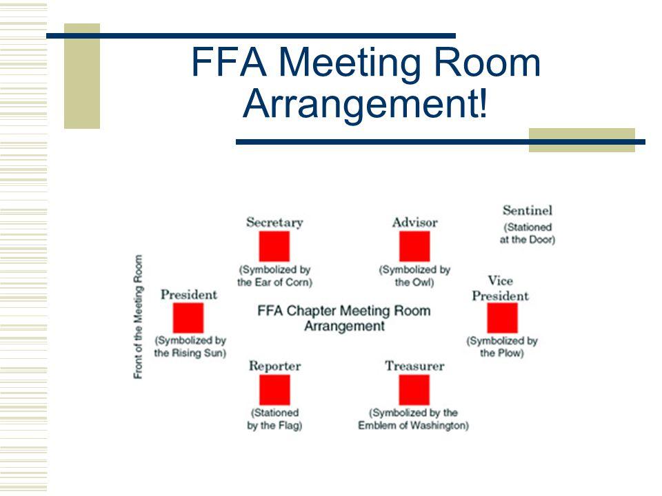 FFA Meeting Room Arrangement!