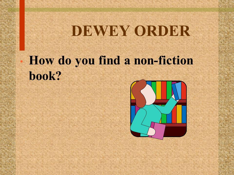 A lesson on Dewey by Patti Evans, Carlisle Elem.