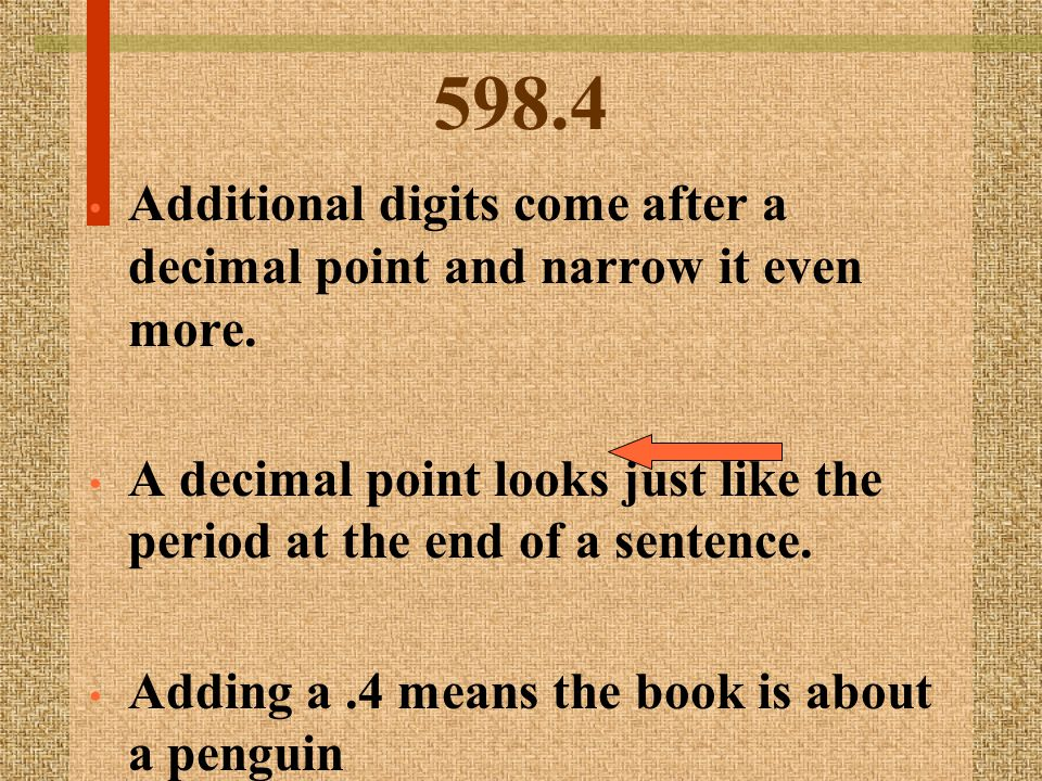 598.4 GRE Below the number are the first three letters of the authors last name