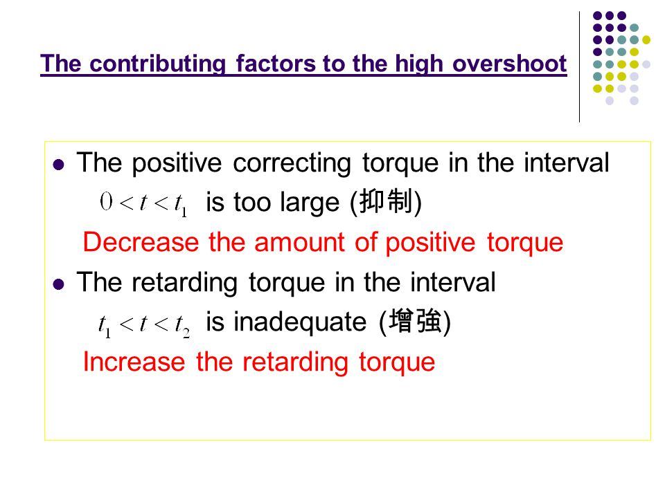 The Performance of P Controller : The error signal is positive, the torque is positive and rising rapidly.