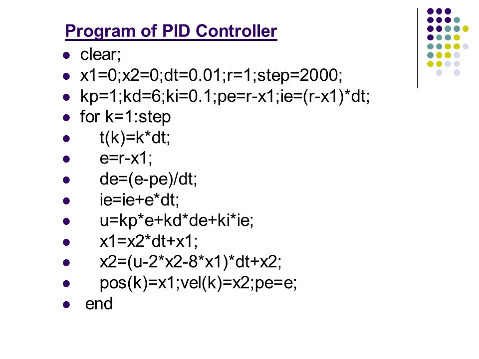HW5 : The Effect of PI Controller Adds a zero at to the forward-path T.F.