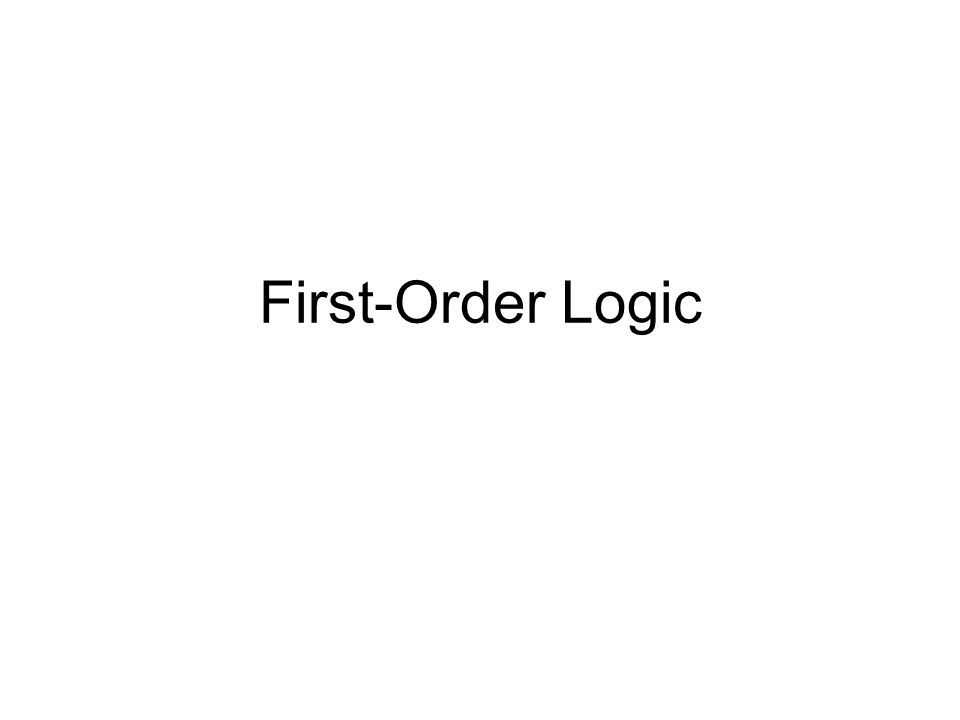 Inference in FOL All rules of inference for propositional logic apply to first-order logic We just need to reduce FOL sentences to PL sentences by instantiating variables and removing quantifiers