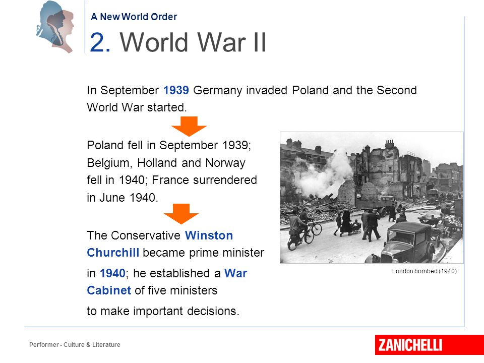 The birth of the Nation In September 1939 Germany invaded Poland and the Second World War started. Poland fell in September 1939; Belgium, Holland and
