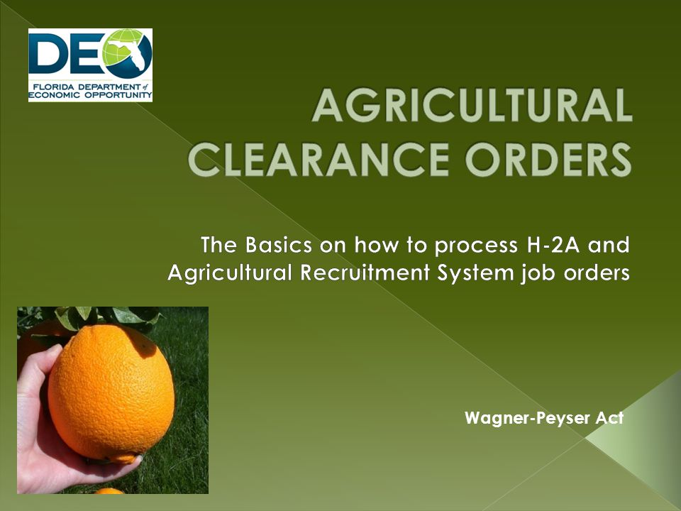 3.Who can be referred for local agricultural job orders.