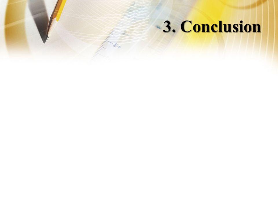 3. Conclusion