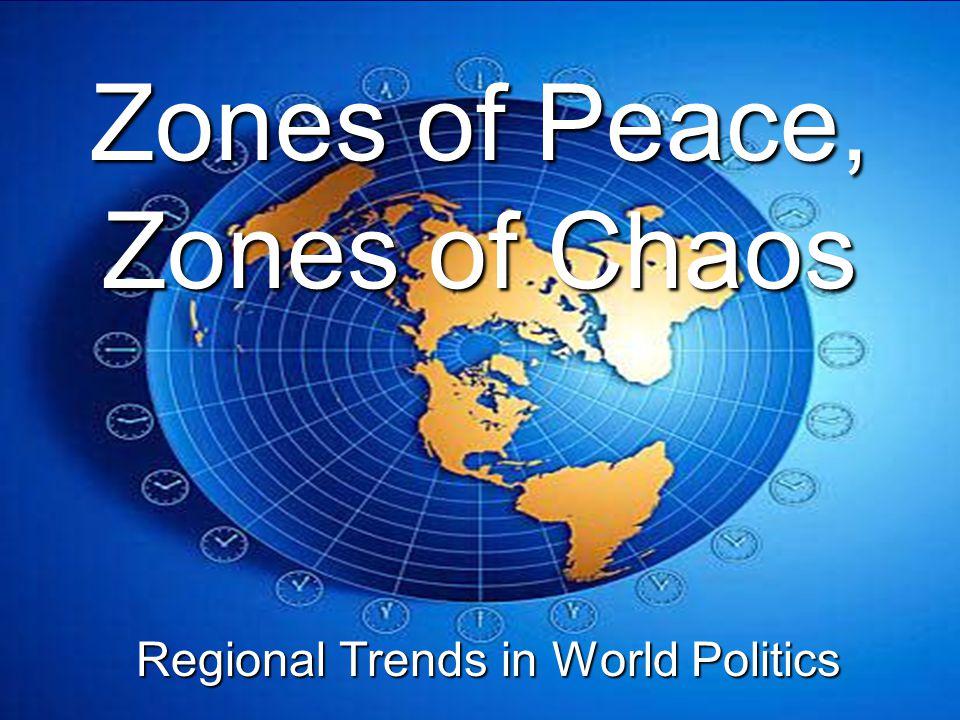 C.Evidence: Regional Economic Organizations 1.