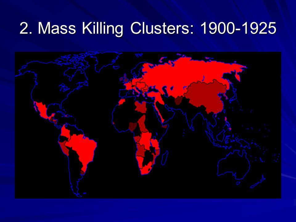 2. Mass Killing Clusters: 1900-1925