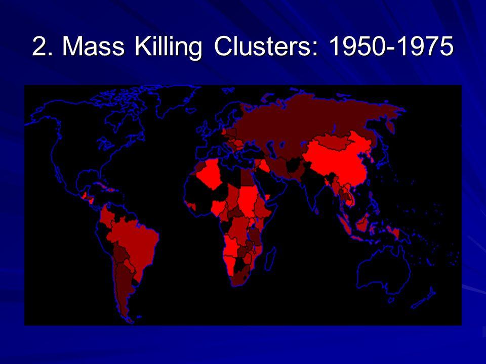 2. Mass Killing Clusters: 1975-2000