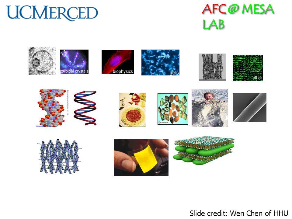 AFC @ MESA LAB Slide credit: Wen Chen of HHU