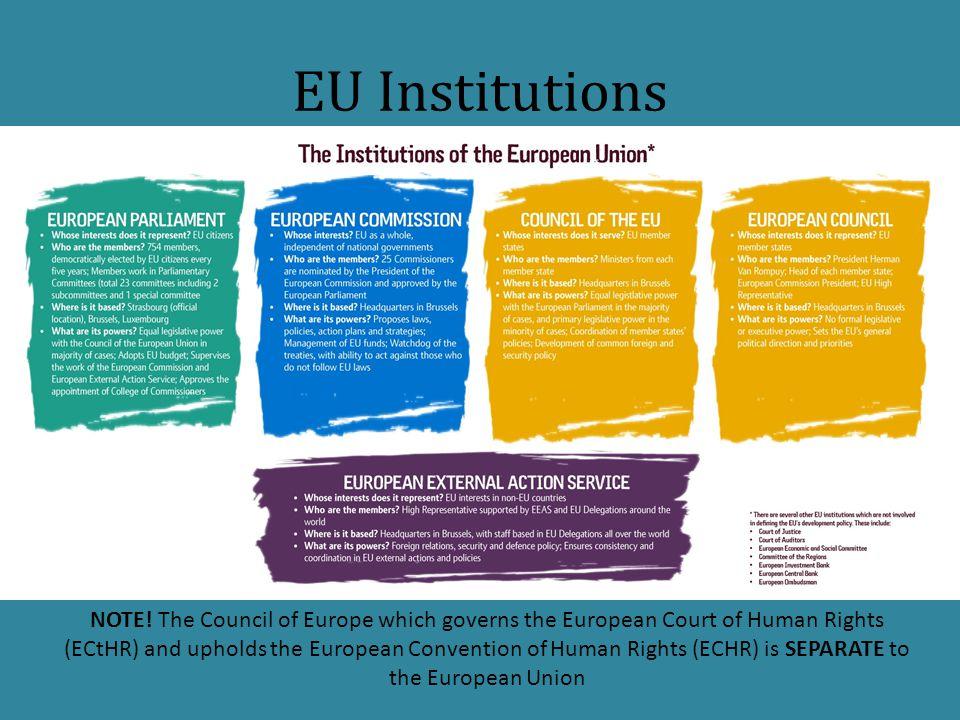 EU Institutions NOTE.