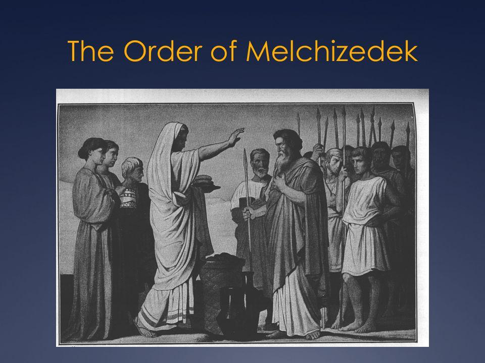 Melchizedek Historical Encounter Prophetic Encounter Fulfillment