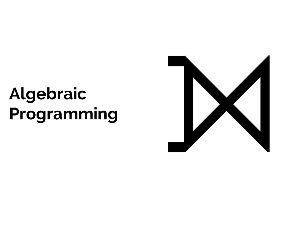 Algebraic Programming
