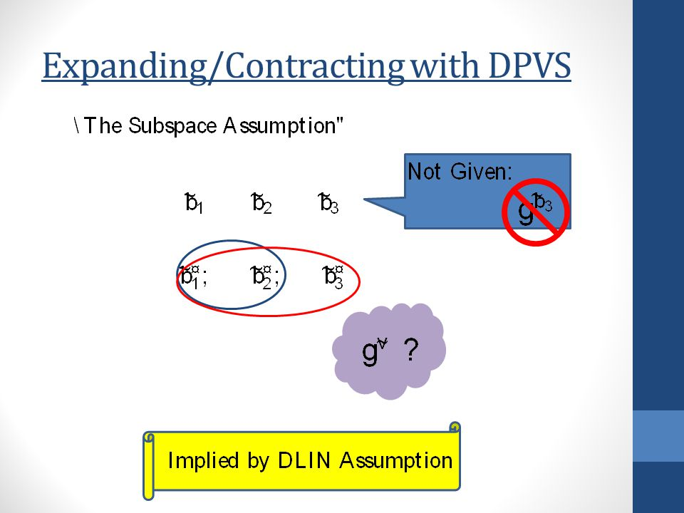 Expanding/Contracting with DPVS